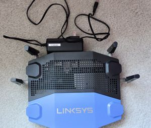 Linksys WRT AC1900 Open Source Dual-Band Gigabit WiFi Wireless Router (WRT1900ACS),Black for Sale in Westerville, OH