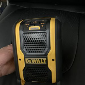 Brand New Dewalt Bluetooth Speaker for Sale in Mesa, AZ