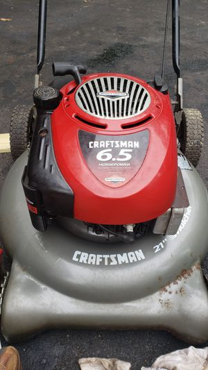 "Craftsman 21"" 6.5 HP Lawn Mower ""AS IS"" for $119 for Sale in Manassas, VA"