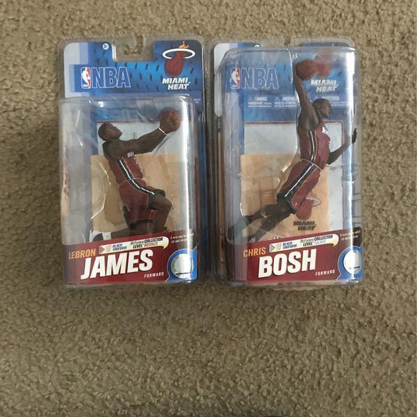 Lebron James And Chris Bosh Collectibles