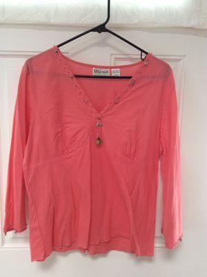 Coral Seashells shirt, women clothing for Sale in Marshfield, MA