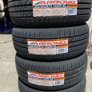 225/55R18 Arroyo $380 Four Brand New Tires ( Installation & Balancing Included ) for Sale in Rialto, CA
