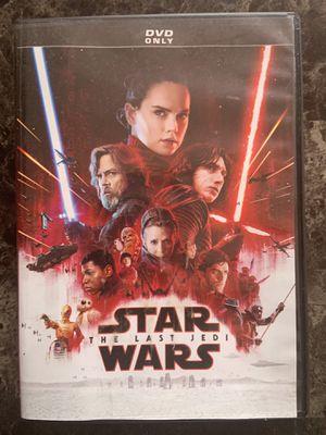 Star Wars 8: The Last Jedi DVD for Sale in Fremont, CA