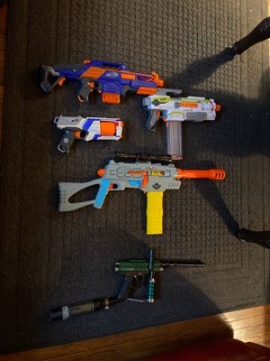 Paint ball guns and nerf guns for Sale in Mount Laurel Township, NJ