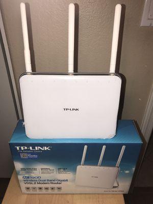 TP Link Archer AC1900 Gigabit Router + Modem VDSL2/ADSL2 for Sale in Chandler, AZ