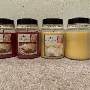 Paula Deen Candles $25 Each Or All For $80 for Sale in Lanham, MD