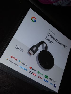 CHROMECAST ULTRA 4K for Sale in Dallas, TX