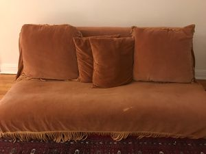 Futon With Cover & Pillows for Sale in New York, NY