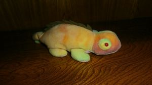 Colorful tie dye chameleon beanbag plushie for Sale in Dallas, TX