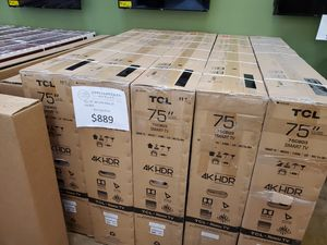 """TCL 75"""" 4K UHD Roku TV for Sale in Lytle Creek, CA"""
