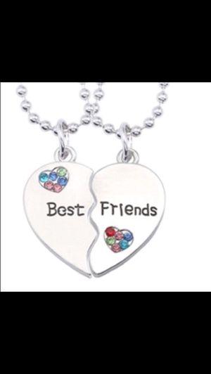 Set Of 2 necklaces, Best friends for Sale in Saint Cloud, FL