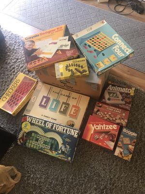 80's board games. for Sale in Seal Beach, CA