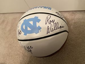 2017-2018 UNC Tar Heels Signed Team Ball for Sale in Greensboro, NC