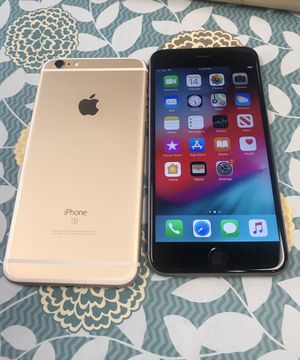 iPhone 6s 64gb AT&T, Cricket, H2O, And Net 10 Excellent Condition for Sale in Cary, NC