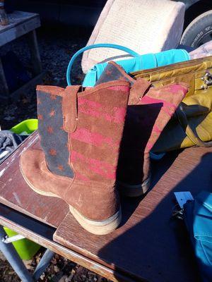 Ralph Lauren boots 9 women for Sale in Dearborn, MI