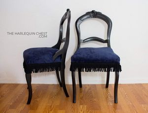 Pair of Antique Balloon Back Parlor Chairs for Sale in Apopka, FL