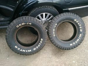 Tires (2) G60-14 for Sale in Denver, CO