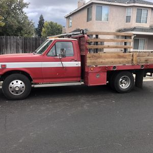 1989 F350 Flatbed Dually for Sale in Fresno, CA
