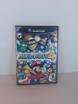 Mario Party 4 (Gamecube, 2002) NO MANUAL. Tested. for Sale in Miami,  FL