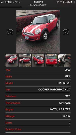 Mini Cooper hatchback for Sale in Portland, OR