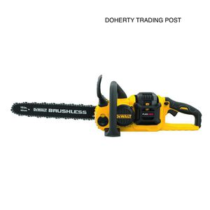 DEWALT 16 in. 60-Volt MAX Lithium-Ion Cordless FLEXVOLT Brushless Chainsaw with One 2.0 Ah Battery and Charger for Sale in Laurys Station, PA