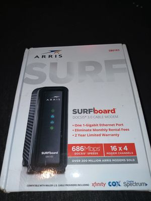 Arris Surfboard Docsis 3.0 Router Cable Modem for Sale in Lynchburg, VA
