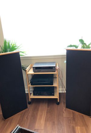 JVC Stereo System with DSC twin speakers for Sale in Denver, CO