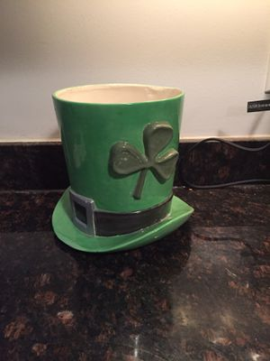 Shamrock hat flower pot for Sale in Norwood, MA