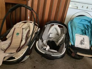 Orbit baby car seats, car seat base, stroller seat, and accessories for Sale in Fresno, CA