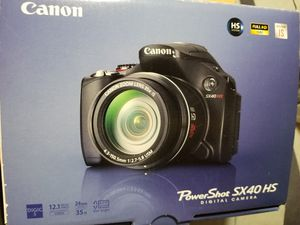 Canon powershot sx40 hs digital camera for Sale in Clinton Township, MI