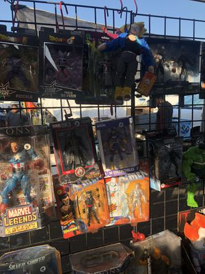 Marvel toys Heman 80 s toys lol dolls shoes etc etc for Sale in Inglewood, CA