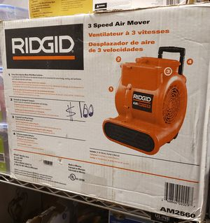 Ridgid 3-Speed Air Mover for Sale in North Las Vegas, NV
