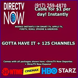 now! cable TV $1 per day for Sale in New York, NY