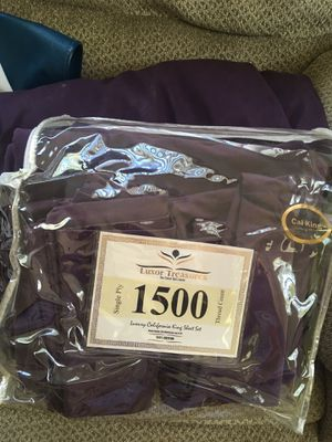 California King sheet set for Sale in Spring Hill, FL