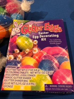 Easter eggs, plastic for treats, plastic for decorating, etc for Sale in Queens, NY