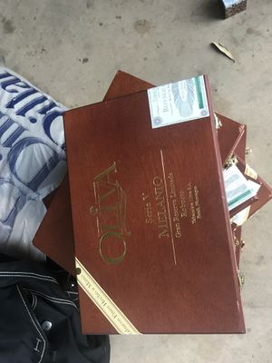 Wooden cigar boxes for Sale in Abilene, TX