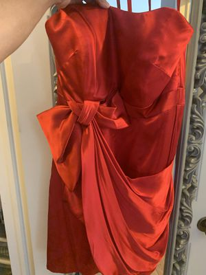 Satin strapless dress for Sale in Ceres, CA