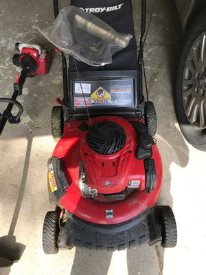 Gas Mower and Trimmer for sale for Sale in Dublin, OH