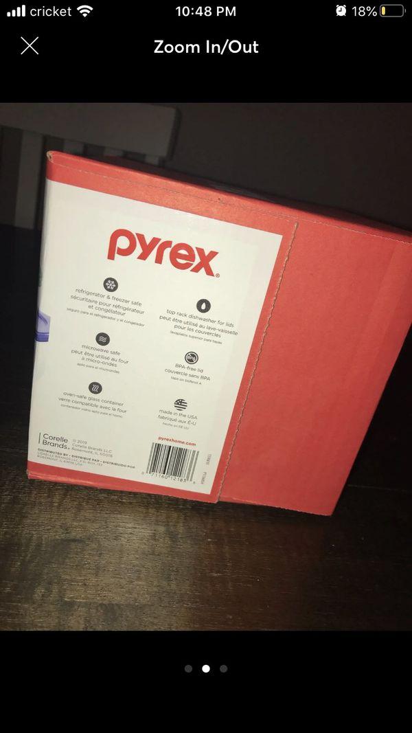 Pyrex glass storage
