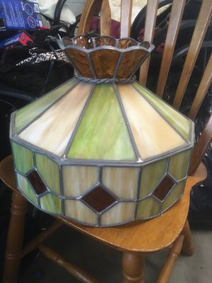Stained glass chandelier for Sale in Munhall, PA
