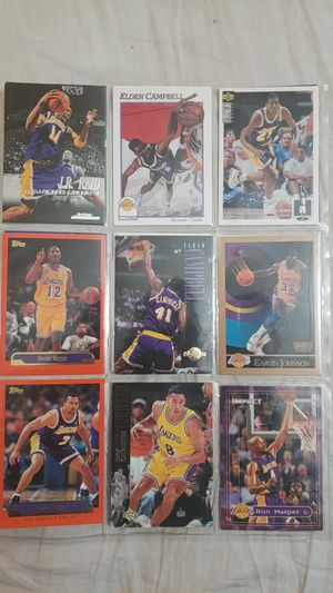 Lakers Earvin Johnson and different cards best offer takes them (accept trades) for Sale in Los Angeles, CA