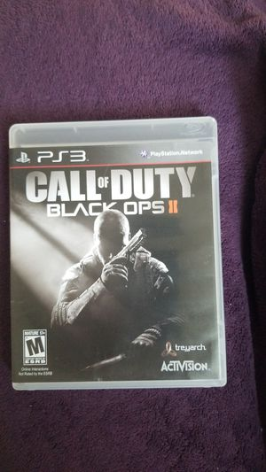 PS3 Call of Duty Black OPS II for Sale in Hayward, CA