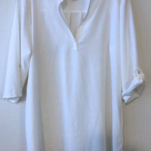 new EXOFFICIO Kizmet woman's top shirt M 8 10 3/4 sleeve white for Sale in Seattle, WA