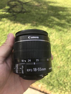 Canon 18-55mm for Sale in San Fernando, CA