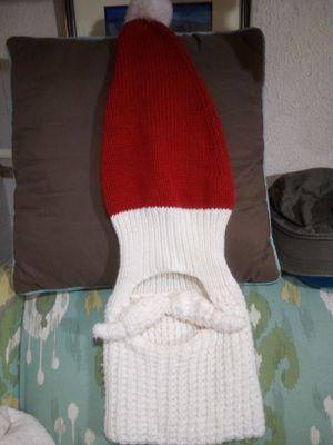 Santa's beard knit beanie for Sale in San Angelo, TX