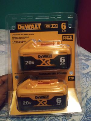 Baterias dewalt $120 no menos for Sale in Los Angeles, CA