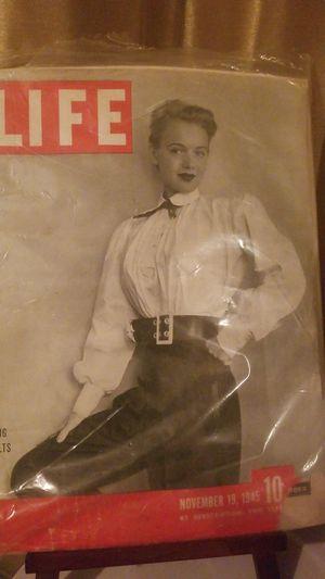 Life magazine Nov 19 1945 for Sale in Riverside, CA