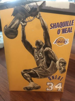 NBA LA Lakers. Shaquille O'Neal SGA Replica Statue. for Sale in Lakewood, CA