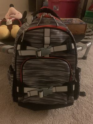 Pottery barn kids backpack (preschool/kinder size) FREE books/puzzles/costume/toy for Sale in Denver, CO