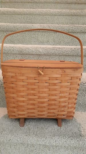 Longaberger 1996 sewing basket for Sale in Fullerton, CA